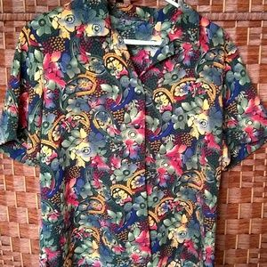 Multicolored Floral Shirt
